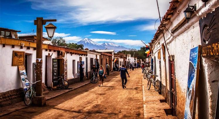 Pontos turísticos em San Pedro de Atacama, Chile