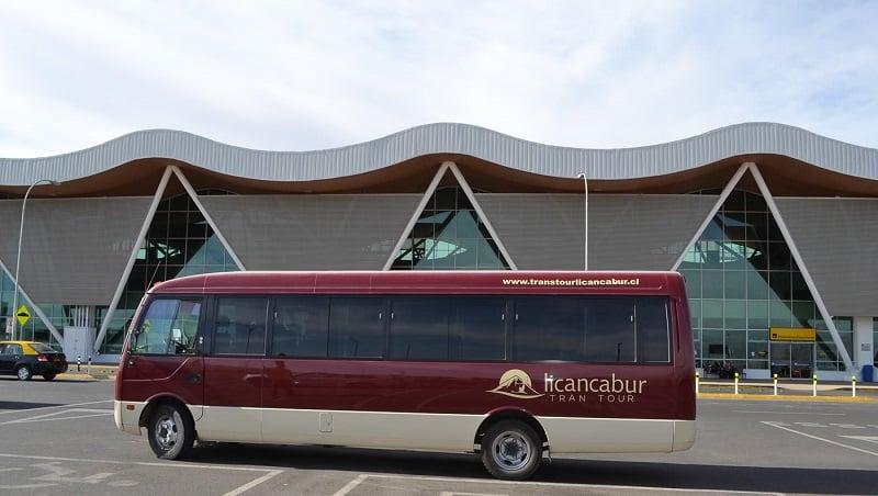 Como ir de transfer do Aeroporto El Loa até o centro de San Pedro de Atacama