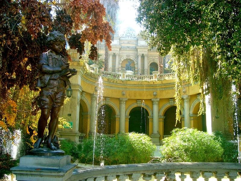 Visitar o Cerro Santa Lucía em Santiago no mês de fevereiro
