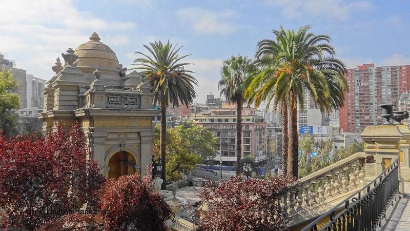 Visitar o Cerro Santa Lucía em Santiago no mês de setembro