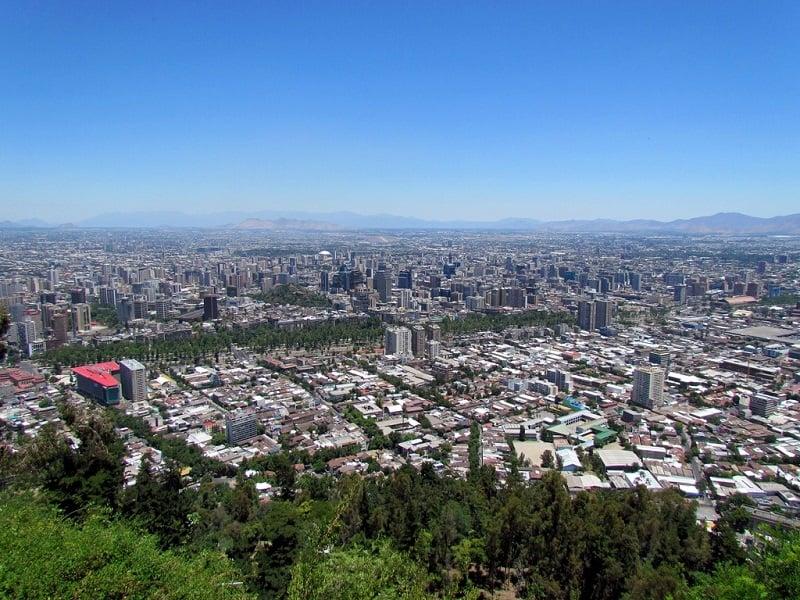 Clima em Santiago no mês de fevereiro