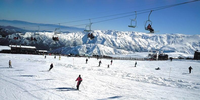 Esquiar em Santiago no mês de setembro