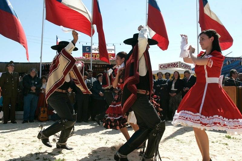 Feriados, festas e eventos anuais em Santiago no mês de setembro