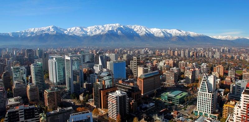 Santiago do Chile em março