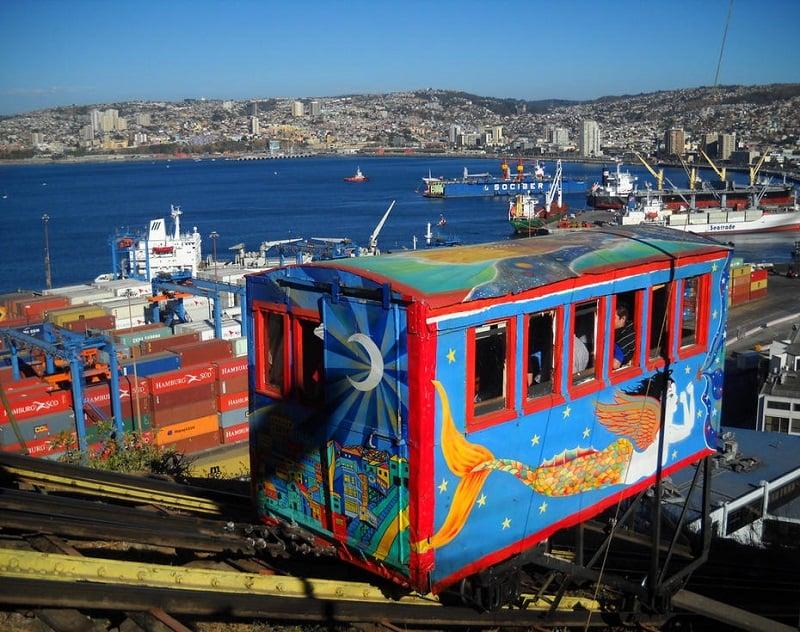 Visitar Valparaíso e Viña del Mar no mês de março