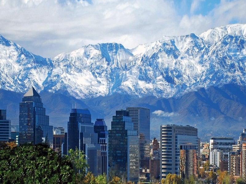 Santiago do Chile em junho