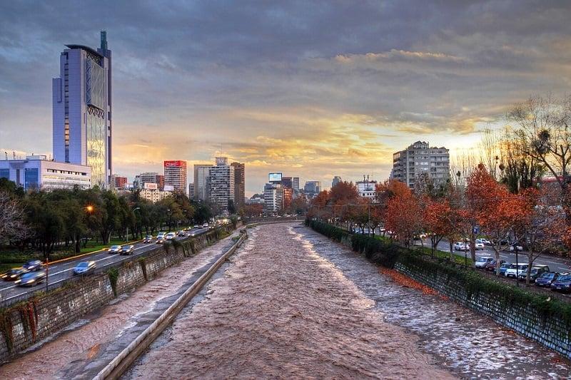 Clima em Santiago no mês de abril