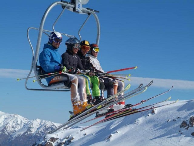 Onde esquiar em Santiago do Chile
