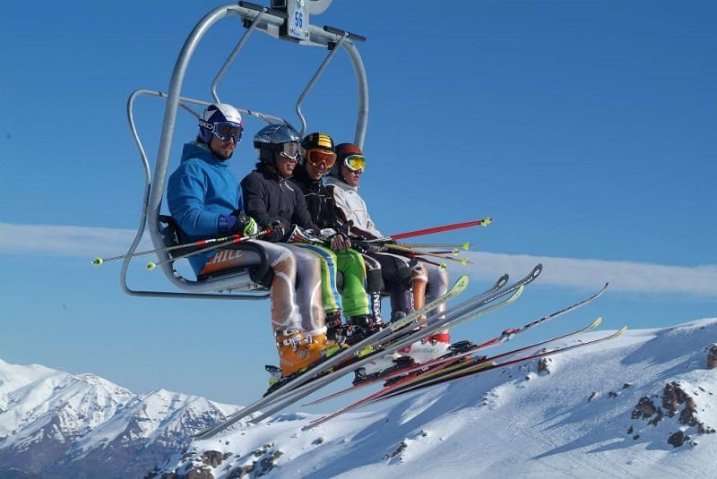 Esquiar em Santiago no mês de julho