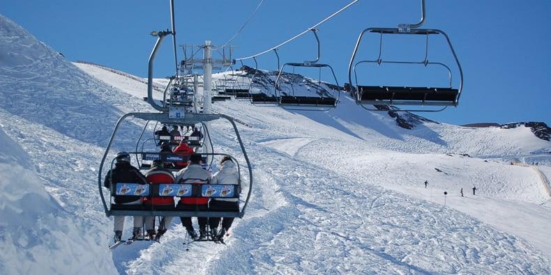 Esquiar em Santiago