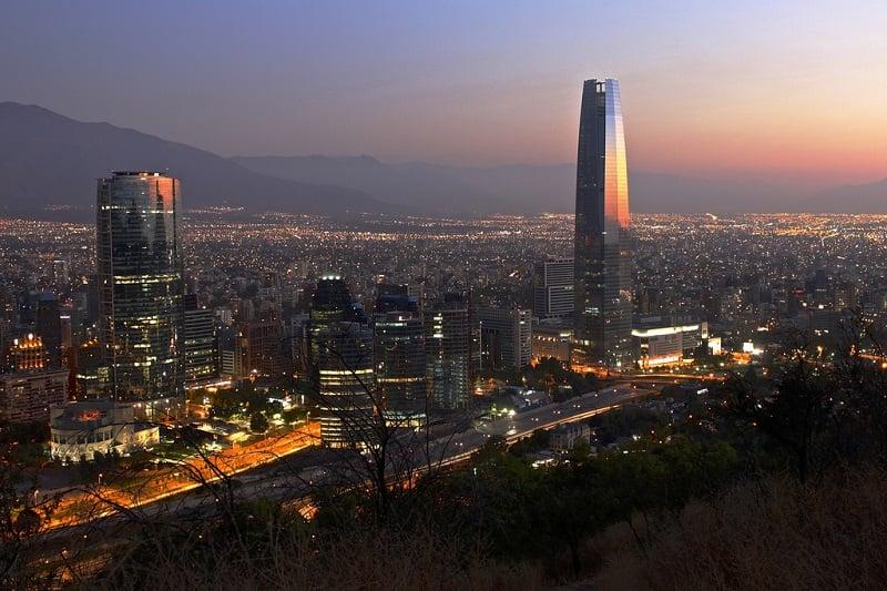 Santiago do Chile em maio