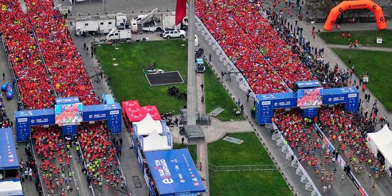 Corrida em Santiago