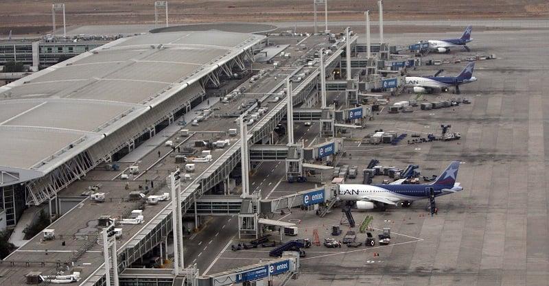 Companhias aéreas e destinos do aeroporto de Santiago