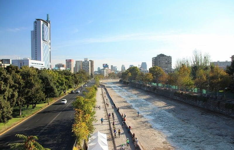 Mês de novembro em Santiago