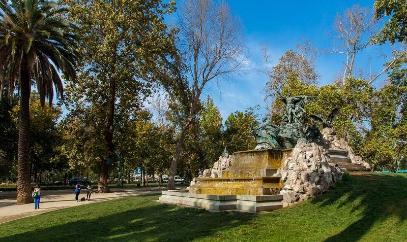 Mês de outubro em Santiago