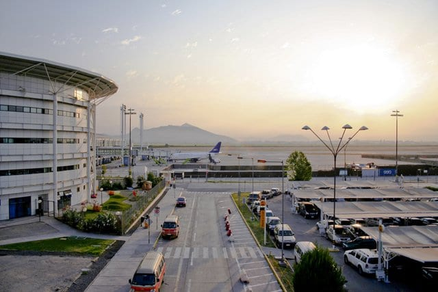 Aeroporto em Valparaíso