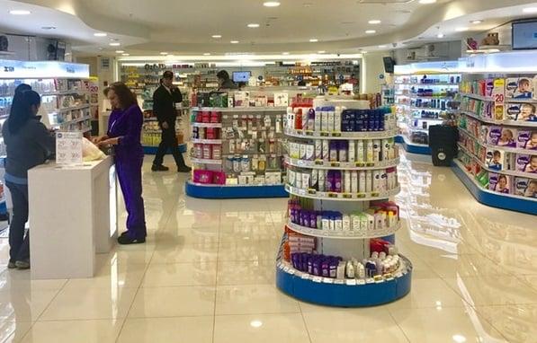 Farmácias em Santiago