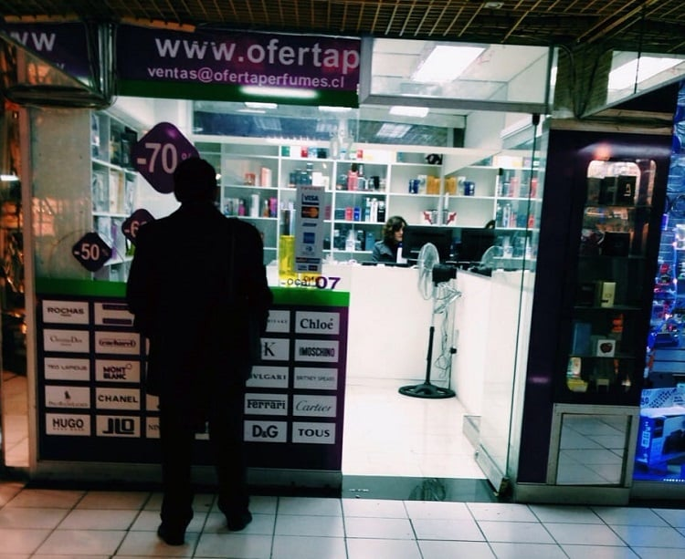Loja Oferta Perfume em Santiago
