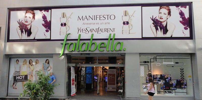 Lojas de departamento em Santiago