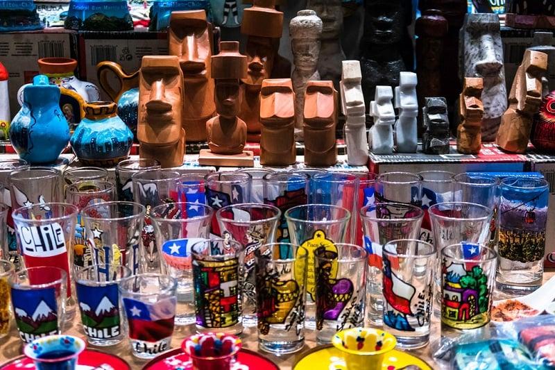 Onde comprar souvenirs em Santiago do Chile