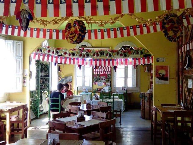 Restaurantes vegetarianos em Valparaíso