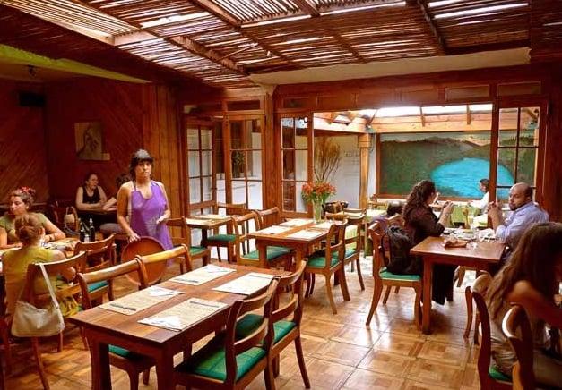 Restaurante vegetariano El Huerto
