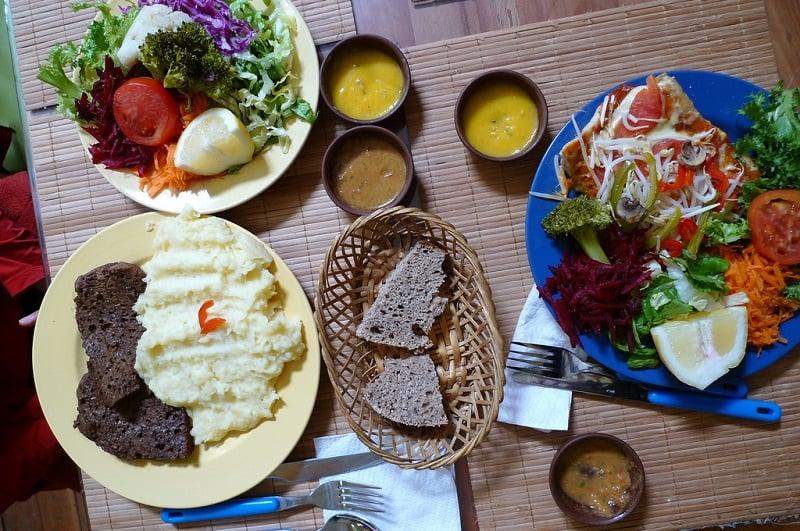 Restaurante vegetariano Govinda's Vegetariano