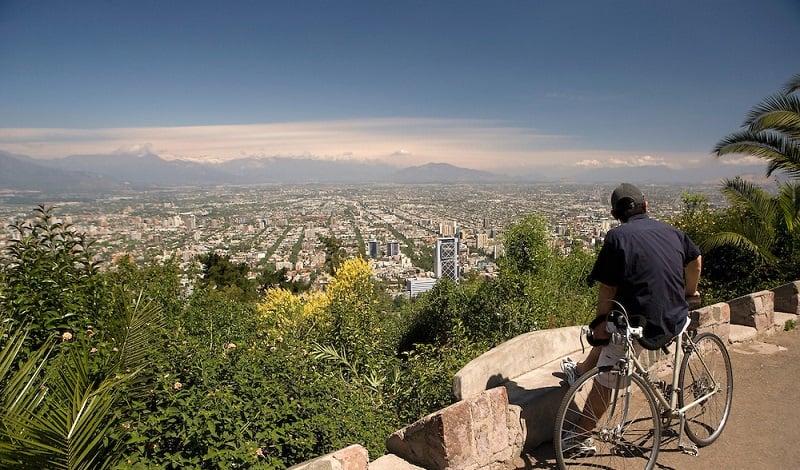 Passeio gratuito pelo Cerro San Cristóbal