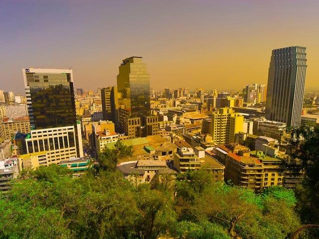 Lua de mel em Santiago do Chile