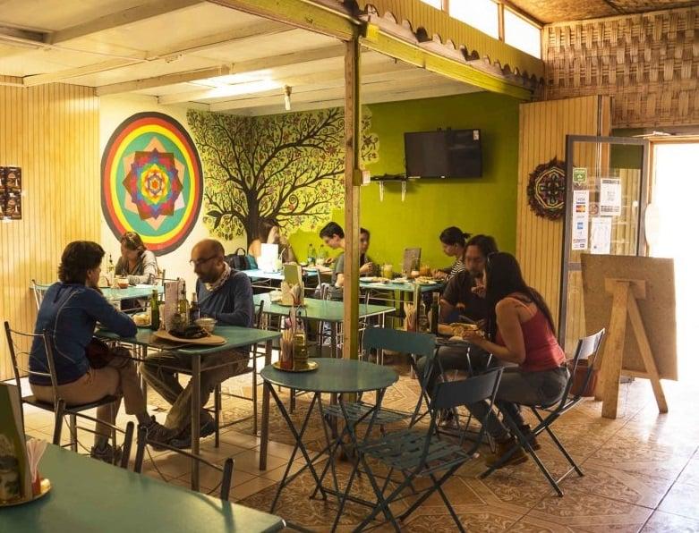 Restaurante vegetariano Estrella Negra