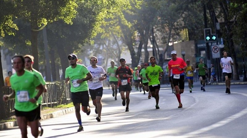 Percurso da Maratona de Santiago