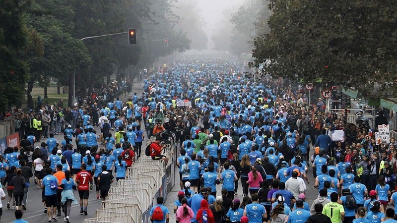 Maratona de Santiago do Chile