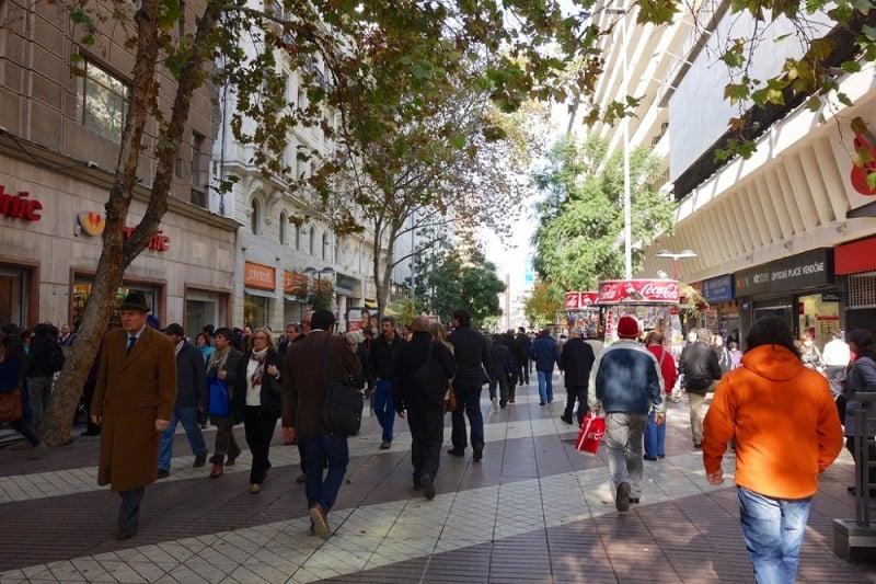 Segurança nas ruas e no transporte público