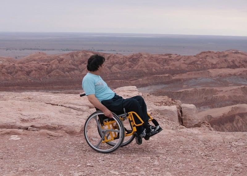 Deficientes físicos em San Pedro de Atacama