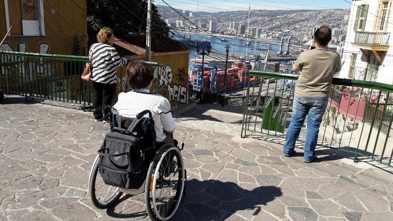 Deficientes físicos em Valparaíso