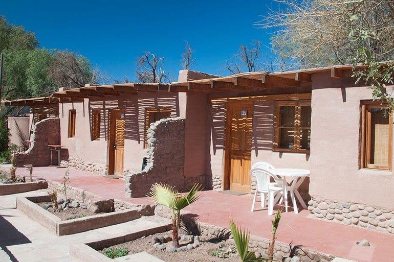 Acomodações do Hotel Takha Takha em San Pedro de Atacama