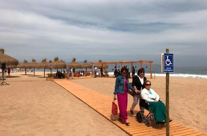Pontos turísticos para deficientes físicos em Viña del Mar
