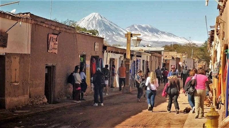 Ruas para deficientes físicos em San Pedro de Atacama