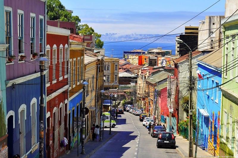 Ruas para deficientes físicos em Valparaíso