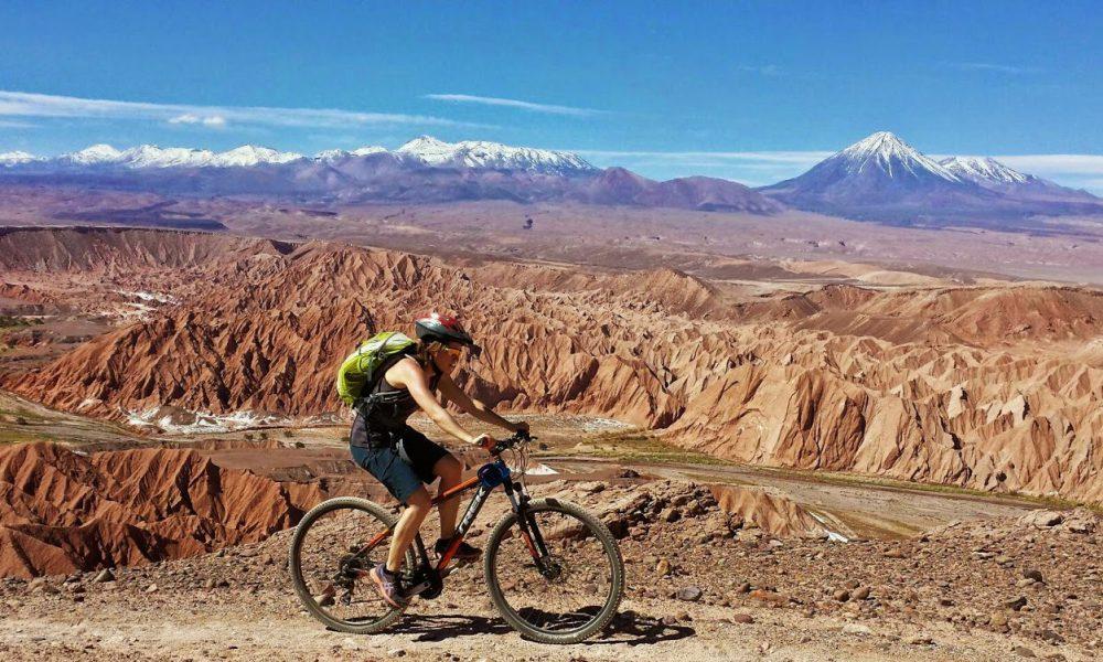 Passeio de bicicleta em San Pedro de Atacama