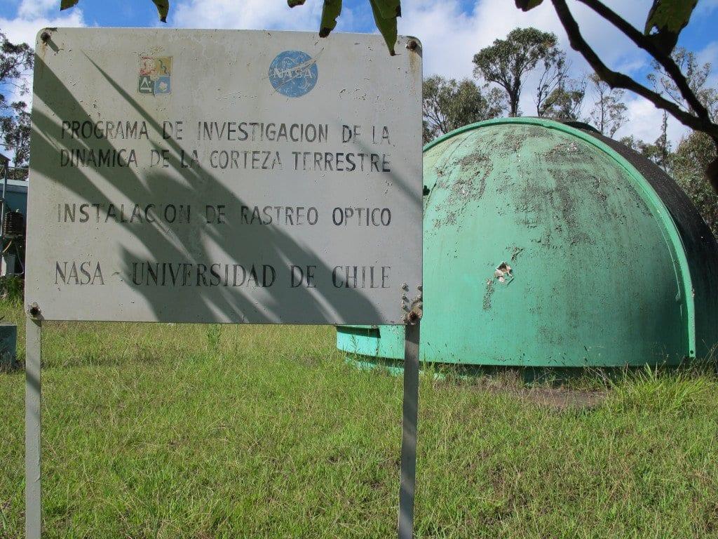 Estação da Nasa na Ilha de Páscoa