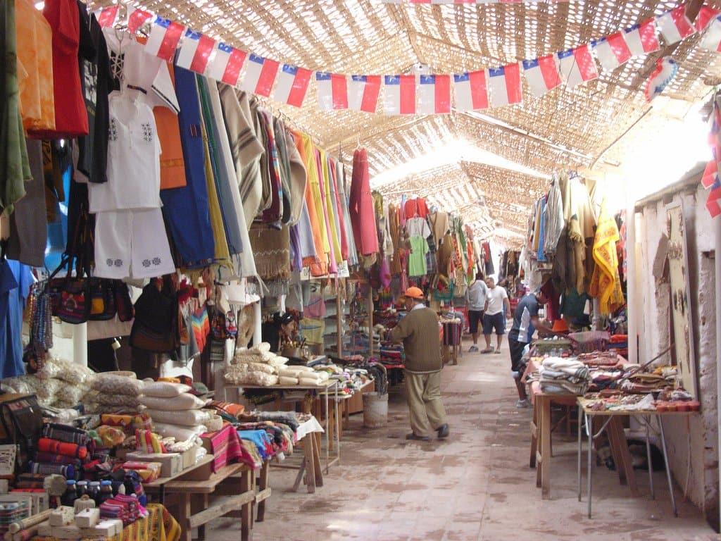 Mercado de Artesanato em San Pedro do Atacama