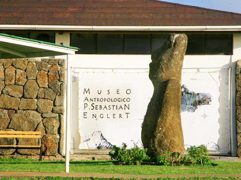 Museu Rapa Nui na Ilha de Páscoa