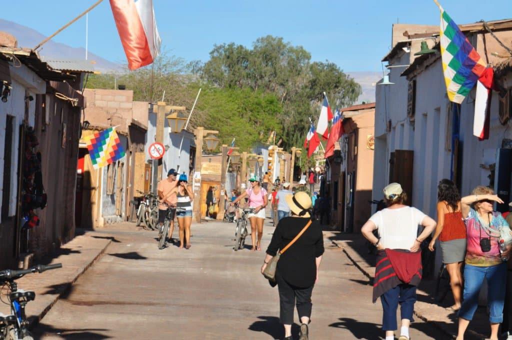 Rua Caracoles em San Pedro do Atacama