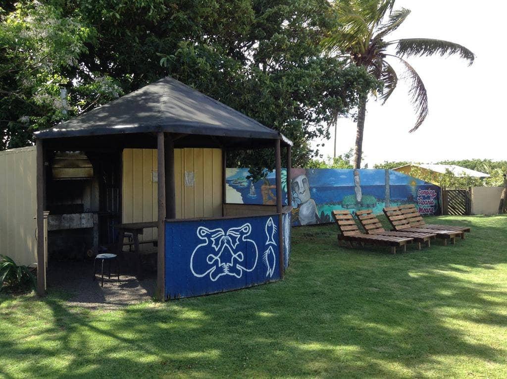 Camping y Hostal Tipanie Moana na Ilha de Páscoa