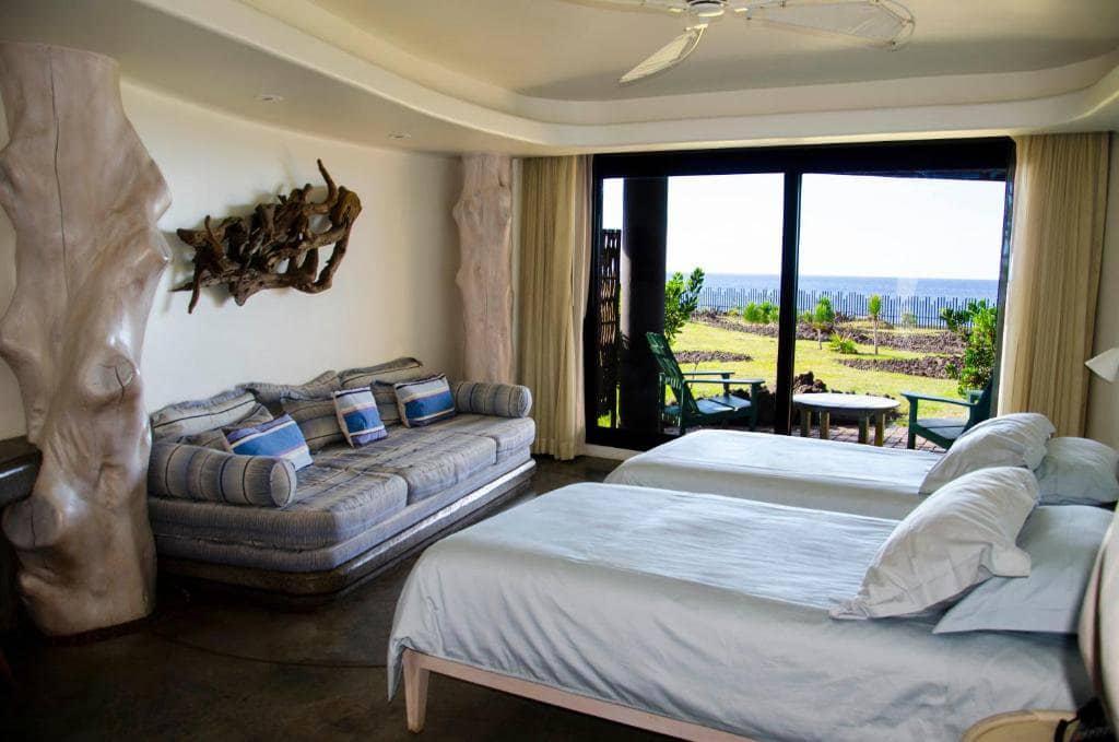 Quarto do Hangaroa Eco Village & Spa na Ilha de Páscoa