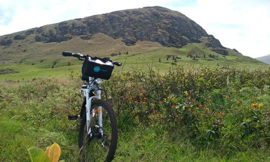 Bicicleta na Ilha de Páscoa