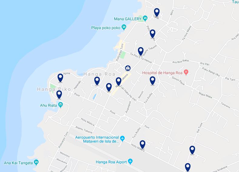 Onde ficar na Ilha de Páscoa: melhores regiões