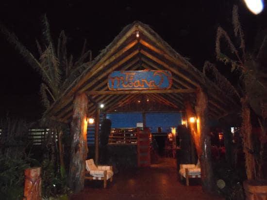 Restaurante Te Moana na Ilha de Páscoa