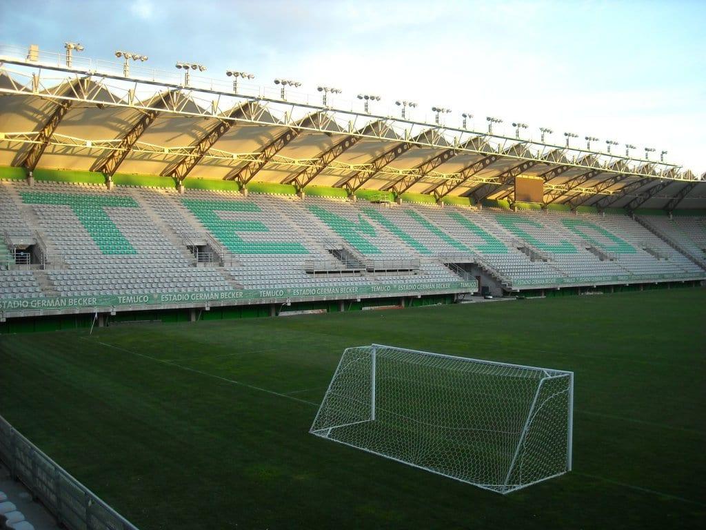 Estádio German Becker em Temuco